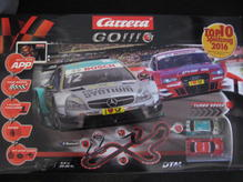 66000 Carrera Go PLUS Grundpackung DTM Trophy mit Pit Stop Game