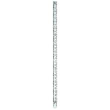 RUMOLD Lineal 323705 50cm Edelstahl silber