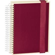 Mucho A5 burgundy 330 Seiten