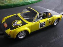 SRC 1:32 Porsche 914/6 Jägermeister Wolfenbüttel 1972 Dieter Bohnhorst