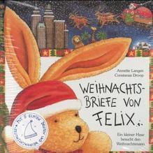 Weihnachtsbriefe von Felix, m. Weihnachtsmannmütze   Langen, Annette; Droop, Constanza