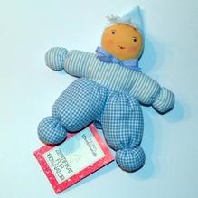 Puppe Wichtel bleu