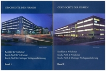 Geschichte der Firmen Koehler & Volckmar, Koch Neff & Volckmar, Koch Neff & Oetinger Verlagsauslieferung und der Gründungsfirma F. Volckmar von 1829 bis 2009, 2 Bde.