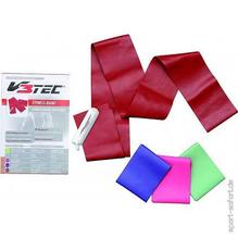 V3tec Fitnessband extra strong 75mm x 1.20m rot