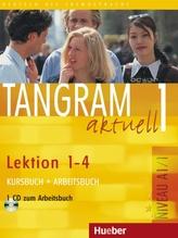 Kursbuch + Arbeitsbuch, Lektion 1-4, m. Audio-CD zum Arbeitsbuch