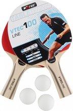 V3tec 2 Tischtennisschläger Vtec100 Line