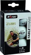 V3Tec 6er Pack Tischtennisbälle 3Star