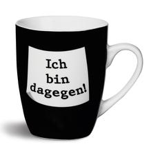 Nici Porzellan-Tasse 'Ich bin dagegen!'