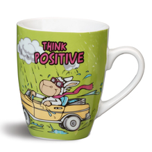 Nici Porzellan-Tasse 'Think Positive'