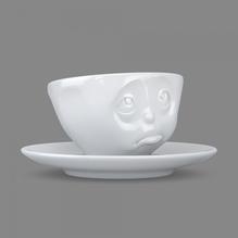 Espressotasse 'Och bitte' weiß 100 ml, 58-Products 011701