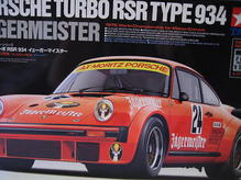 TA24328 Tamiya 1:24 Porsche 934 Jägermeister