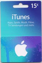 iTunes Guthaben Karte 15€