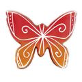 Ausstechform Schmetterling, Edelstahl