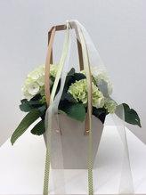 Tasche mit Hortensie
