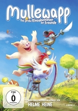 Mullewapp, Das große Kinoabenteuer der Freunde, 1 DVD | Heine, Helme