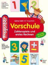 Fragenbär, Vorschule - Zahlenspiele und erstes Rechnen