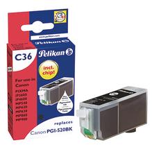 Pelikan Tintenpatrone 4103239 C36 wie Canon PGI520BK schwarz