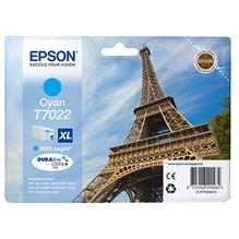 Epson Tintenpatrone C13T70224010 T7022XL 2.000Seiten 21ml cyan