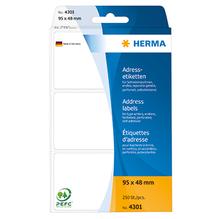 HERMA Adressetikett 4301 95x48mm weiß 250 St./Pack.