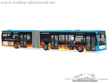 HO Modell  Stadtbus Heilbronn MB Citaro G E4  Feuerwehr Heilbronn Maßstab 1:87