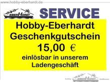 Geschenkgutschein HOBBY-BERHARDT Wert 15,oo €