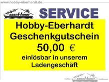 Geschenkgutschein HOBBY-BERHARDT Wert 50,oo €