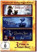 Wundervolle Weihnachtsgeschichten - 3 Filme in einer Box, 3 DVDs