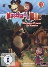 Mascha und der Bär - Ein neuer Freund für Mascha, 1 DVD