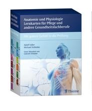 Anatomie und Physiologie Lernkarten für Pflege und andere Gesundheitsfachberufe   Faller, Adolf; Schünke, Michael