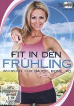Fit in den Frühling - Workout für Bauch, Beine, Po, 3 DVDs