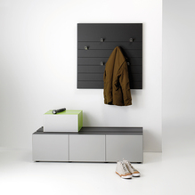 Garderobe basic quadratisch