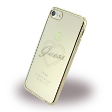 Guess - Apple iPhone 7 Heart GUHCP7TRHG - TPU Cover / Silikon Case / Schutzhülle