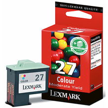 Lexmark Tintenpatrone 10NX227E 27 220Seiten c/m/y