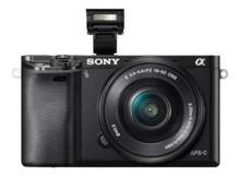 ALPHA 6000 + 16-50 PZ EF SET # Sony Alpha 6000 + SEL E PZ 16–50 / 3.5–5.6 OSS + Akku + Filter