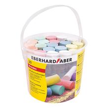 EBERHARD FABER Straßenmalkreide 526512 Eimer sortiert 20 St./Pack.