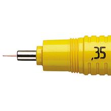 rotring Zeichenkegel rapidograph S0219430 0,35mm gelb