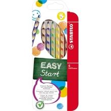 STABILO Farbstift EASYcolors 331/6 Linkshänder sortiert 6 St./Pack.