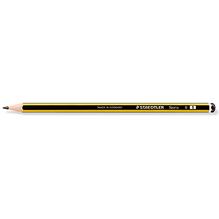 STAEDTLER Bleistift Noris 120-1 B sechskantform gelb/schwarz
