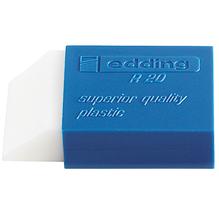edding Radierer R 20 4-R20 Kunststoff transparent