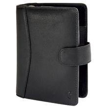 Chronoplan Timer Standard 50174 15x19cm Vollrindleder schwarz