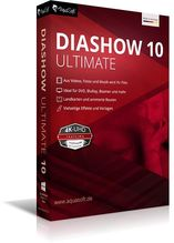 AquaSoft DiaShow 10 Ultimate, 1 DVD-Rom