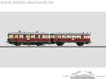 Märklin 37707 Dieseltriebwagen mit Beiwagen. Deutsch BR VT 135 & BR 140, DRG | Gauge H0