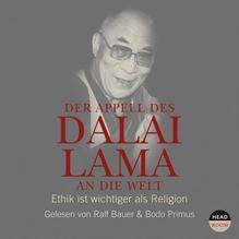 Der Appell des Dalai Lama an die Welt, 1 Audio-CD