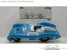 Märklin Replica 1947 Rennwagen MB Bayerischer Rundfunk second Hand
