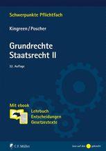 Grundrechte. Staatsrecht II | Kingreen, Thorsten; Poscher, Ralf
