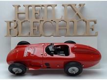 Dekorationsschriftzug Heilix blechle .... unlackiert