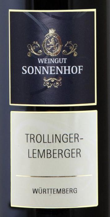 2015 Trollinger mit Lemberger feinherb Weingut Sonnenhof