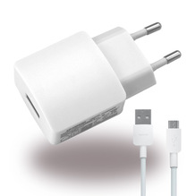 Huawei - HW-050200E3W / E01 - Netzteil / Ladegerät / Adapter + Ladekabel - USB - 2000mA