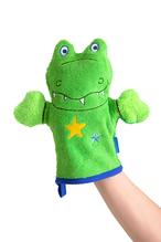 Kinderwaschhandschuh 'Krokodil'