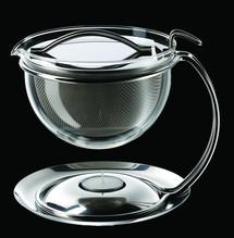 Teekanne mit integriertem Stövchen - 1,5l - mono